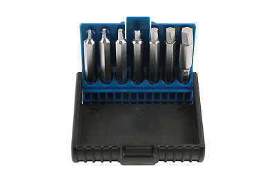 Damaged Distorted Hex Allen Key Bolt Screw Extractor Tool Set 7pc 1.5mm - 6mm