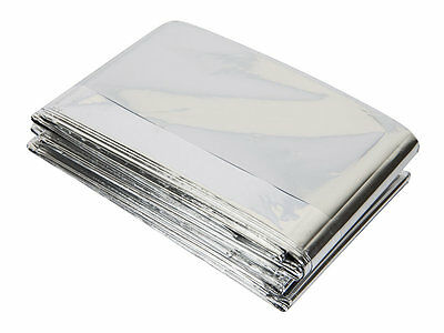 Emergency Foil Blanket -  Ideal for Camping, Hiking, First Aid