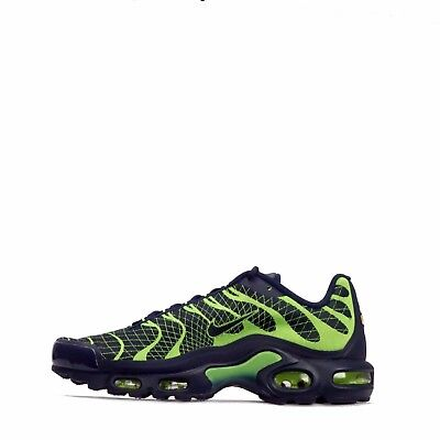 wholesale dealer 40075 ddb3e Nike Air Max Plus Jacquard TN Tuned Mens Shoes in Navy Volt