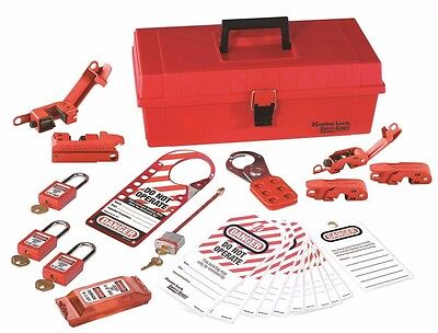 Master Lock 1457E410KA Master Lock Personal Lockout Kit Electrical