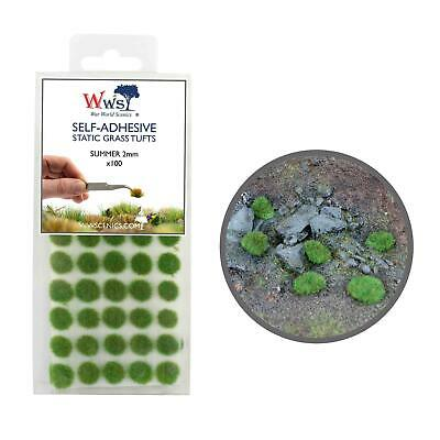 WWS Summer Grass 2mm Self Adhesive Static Grass x 100 Tufts SUM002