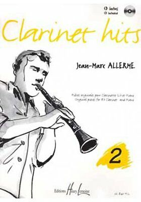 Partition+CD pour clarinette - Jean Marc Allerme - Clarinet Hits - Volume 2