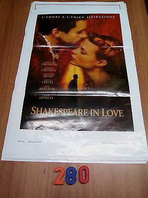 Locandina Cinema   N. 280  -   Shakespeare In Love  1° Ed. Italiana 1999