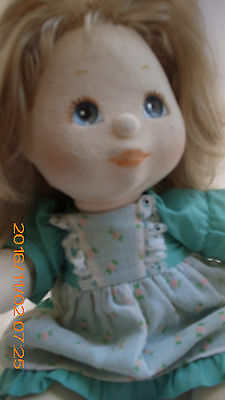 ~~  Adorable ~Vintage My Child Doll ~~ BLONDE HAIR/ BLUE EYES ~~