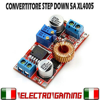 Convertitore Step Down regolabile 5A dc-dc XL4005 stepdown 5A - BE50