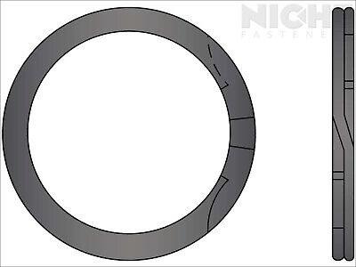 Spiral Retaining Ring Internal MD 3-3/16 Steel (15 Pieces)