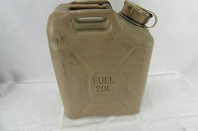 Military Fuel Can Plastic 5 Gallon Storage Container Desert Tan Emergency 20L