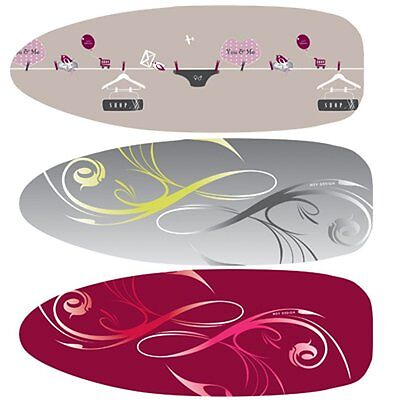 MSV 130067 Ironing-Board Cover with Ties - 100 % Cotton/Polyester - 130 x 46 cm