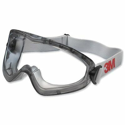 3M 2890S Polycarbonate Safety Goggles Anti Fog Anti Scratch Clear Lens