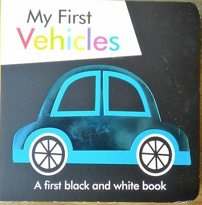 My First Vehicles CHILDREN BABY BOARD BOOK EARLY LEARNING new