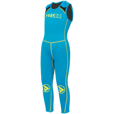 Peak UK Kidz Wetsuit Long John canoeing kayaking Paddleboarding