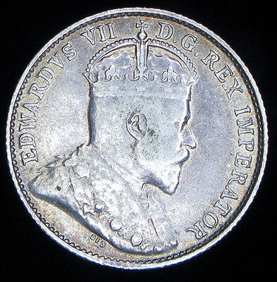 Canada 1905 5 cents silver