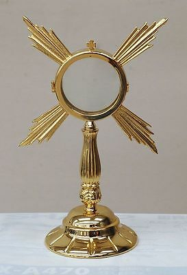 Ostensorio dorato Monstrance gilded ostensoir Monstranz monstrancja