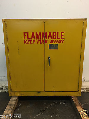 """Flammable Storage Cabinet 44"""" x 18"""" x 44"""""""