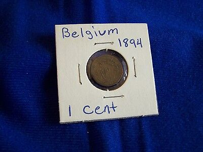 6 Belgium Coins: Various Denominations / Mixed Dates (1894 – 1972) See List