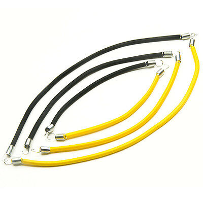 Roof Rack Accessory Bungee Cords black/yellow for RC Rock Crawler Truck