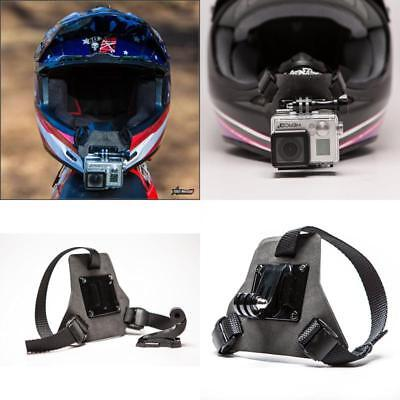 Full Face Helmet Chin Mount Device for GoPro Perfect POV Filming Angle Sport