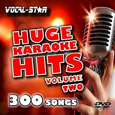 Vocal-Star Huge Karaoke Hits Vol 2 Karaoke Collection HD DVD Disc Pack 10 Dis...