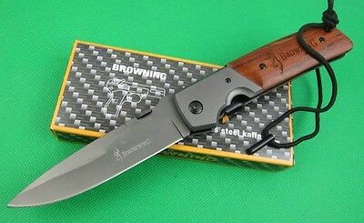 Browning Da52 Large Folding Knife - Hunting - Tactical - Survival - Self Defence