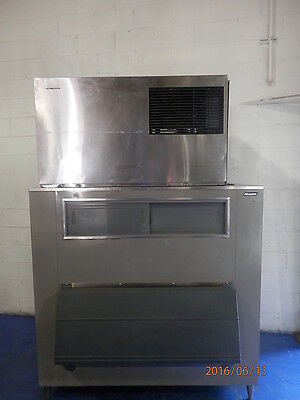 Hoshizaki 1200 Lb. Commercial Ice Machine With Bin