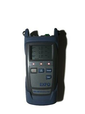 Exfo PPM-350B-EG Pon Power Meter Used Works Needs New Ports