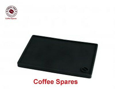 COFFEE TAMPER MAT 15 x 10cm - CREMA PRO Food grade compact sizes