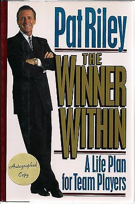 AUTOGRAPHED SIGNED The Winner Within by Pat Riley 1st Ed. Laker Coach COA FreeSH