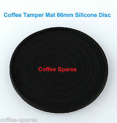 TAMPER MAT DISC 66mm FLAT Round COFFEE Silicone-protect coffee Tamper &Benchtops