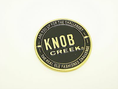 Limited edition Knob Creek Bourbon Whisky Challenge Coin