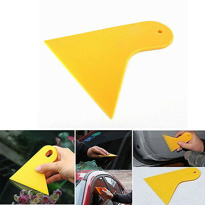 2x Car Window Tint Scraper Squeegee Wrapping Vinyl Film Cleaning Tool Kit Newly