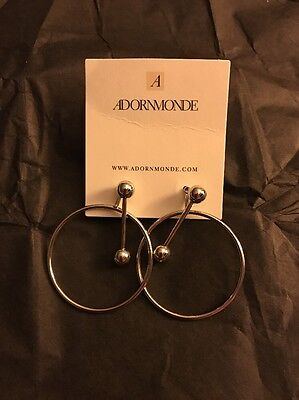 Rachel Zoe Box Adornmonde Ivo Earrings Retailed At $62.00 In Silver