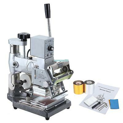 Hot Foil Stamping Tipper Stamper Bronzing Machine Card Foil Logo Embossing