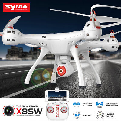 RC Drone With 2.0MP Camera Syma X5SC Remote Control Helicopter 4CH UK Free Ship