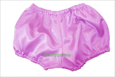 Orchid Satin Pants Pantaloons Sissy Maid Adult Baby Fits With Underwear
