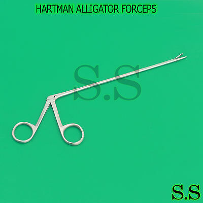 "New Premium Grade Hartman Alligator Forceps 8"" Surgical"