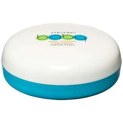Shiseido Japan Medicated Pressed Baby Powder Contains Puff 50g