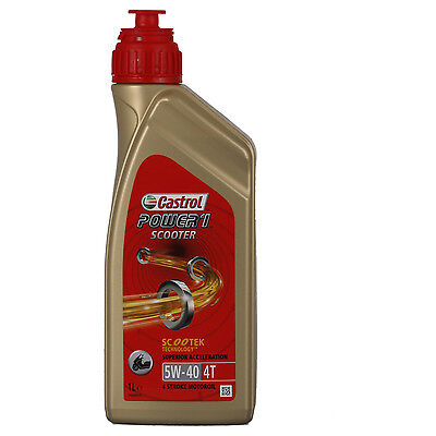 Castrol POWER 1 Scooter 4T 5W-40  1 Litros Lata