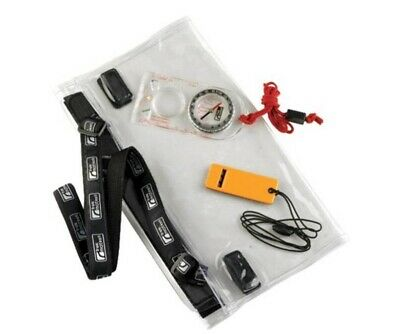 Trekmates Dry Map Case Set - Compass, Whistle, Case, Neck Strap