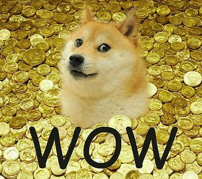 Dogecoin Cryptocurrency 10000 (10K) DOGE Directly to Your Digital Wallet