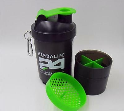 500ml Herbalife24 Sectional Shake Cup With Stainless Steel Wire Whisk