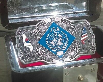 Joint Security Area Belt Buckle