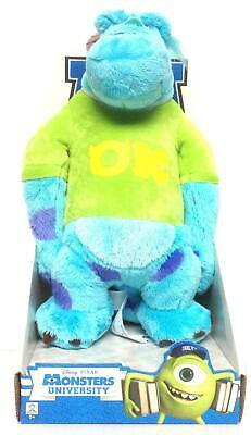 "Monsters University 10""  Soft Plush Toy - Sulley with T-Shirt - 6020692 - Boxed"