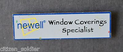 Home Depot Newell Window Coverings Specialist Vendor Pin