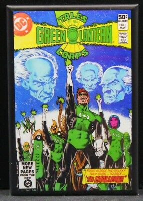 Tales of The Green Lantern Corps #1 Comic Book - Fridge / Locker Magnet. DC