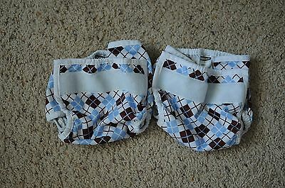Lot/2 Size Small Thirsties Cloth Diaper Covers