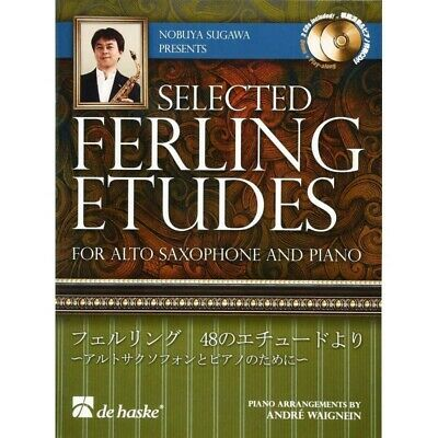 Sugawa Selected Ferling Etudes per sax alto e pianoforte