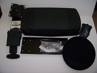 Keyboard and Mouse Tray W/Mounting Bracket-Wrist & Mouse Gel Pads-Trendway Adj.
