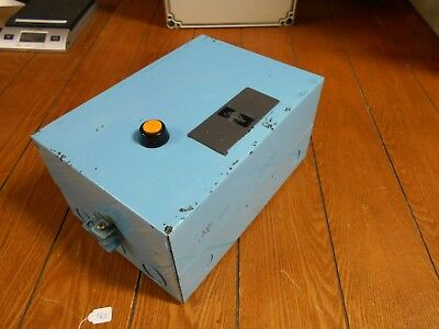 Toshiba C4-18U Contactor, 115-120V, Size 00, 1HP, 9A, w/ Relay and Enclosure,New