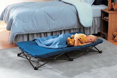 Portable Bed Baby cot Travel for Trip Royal Blue New Free Shipping Camping field