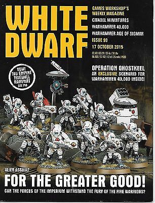 Games Workshop White Dwarf 17 Ottobre 2015